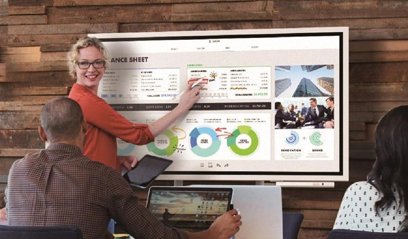 Tableau blanc interactif & Ecran TV