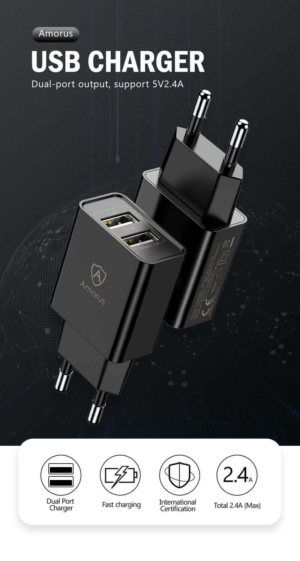 Prise mural 2 USB