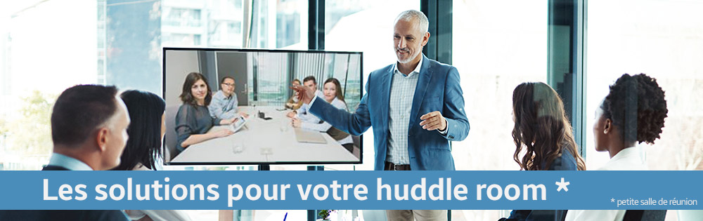 Solutions pour huddle room