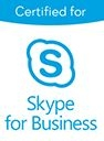 certifié skype for businnes