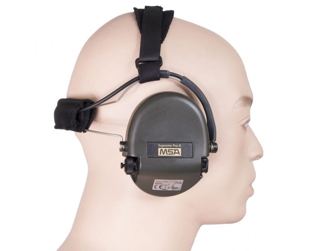 MSA Supreme Pro X Neckband Zwart